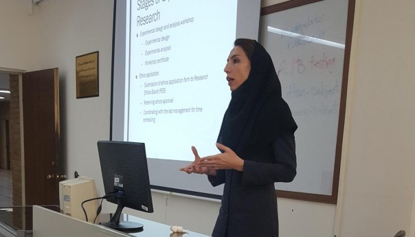 چهارمین جلسه بینش با موضوع آشنایی با روش تحقیق آزمایشی در مدیریت کسب و کار