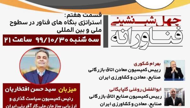 سازمان ملی کارآفرینی ایران برگزار می نماید